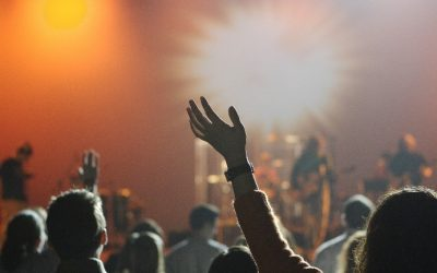Corporate worship through a video medium by Andrew Clarke