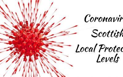Coronavirus Scottish Local Protection Levels