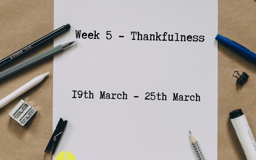 Together Through Lent – Week 5